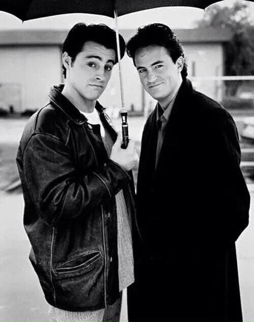 Mathew Perry and Matt LeBlanc                                                                                                                                                      More