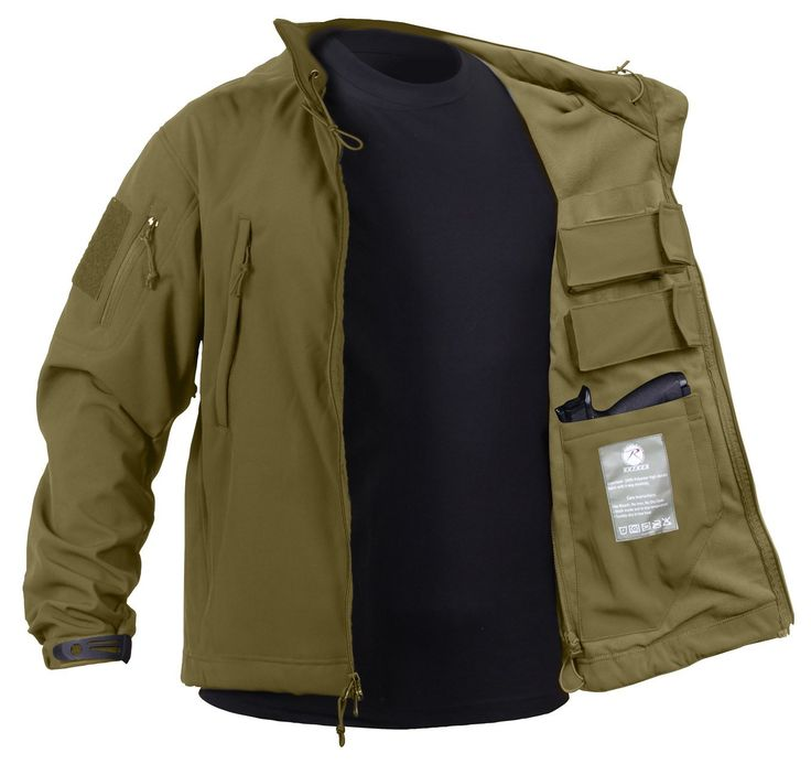 Concealed Carry Soft Shell Jacket - Rothco