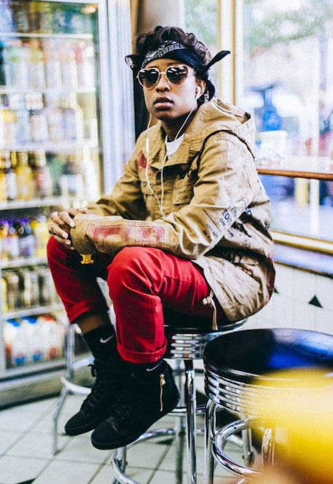 Singer and rapper, Dej Loaf...