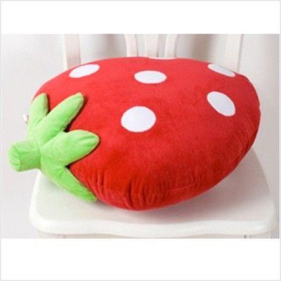 strawberry kawaii pillow