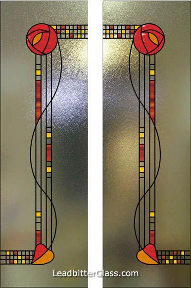 Charles Rennie Mackintosh Doors - Knutsford Cheshire