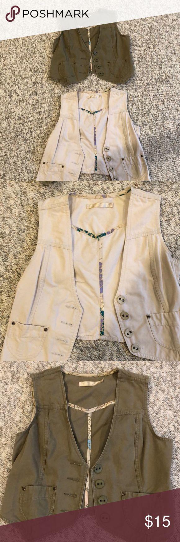 2 old navy vests! Worn a few times! Looks brand new! You get both vests! Jackets & Coats Vests