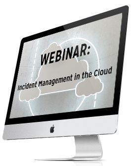Incident Management in the Cloud #Webinar