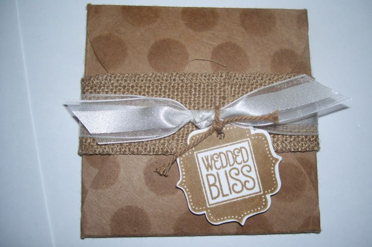 Quick Wedding Gift Card Holder with Gift Card Enclosure Pack