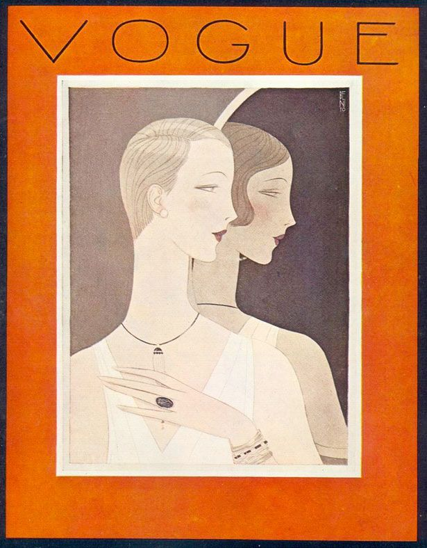 * wunderkammer *: Vogue: Portadas Art Deco / Art Deco covers, I