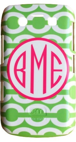Clairebella Personalized Cell Phone Case - Chain Green ($54.00)