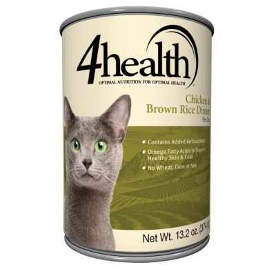 4health chicken amp brown rice cat food 13 2 oz