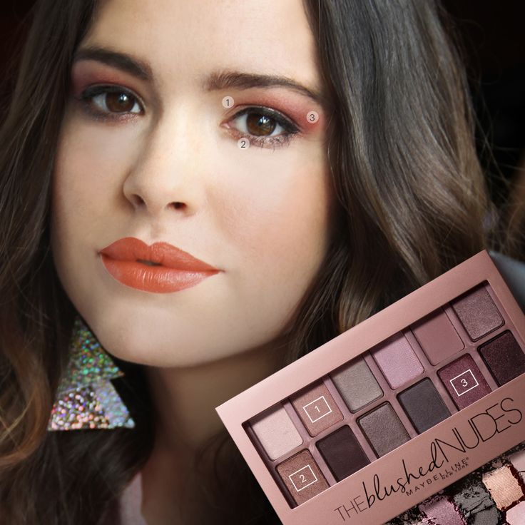 Risqué rose eye look - Feeling fearless? #DareToGoNude like Lily in the second installment of our new #VanitySeries. Rocking this risqué rose look, she takes a risky step towards landing her dream job. Doesn't Alex Frnka look dangerously gorgeous?