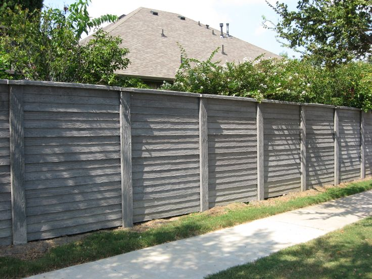This Precast Concrete Fence Was Installed By Future