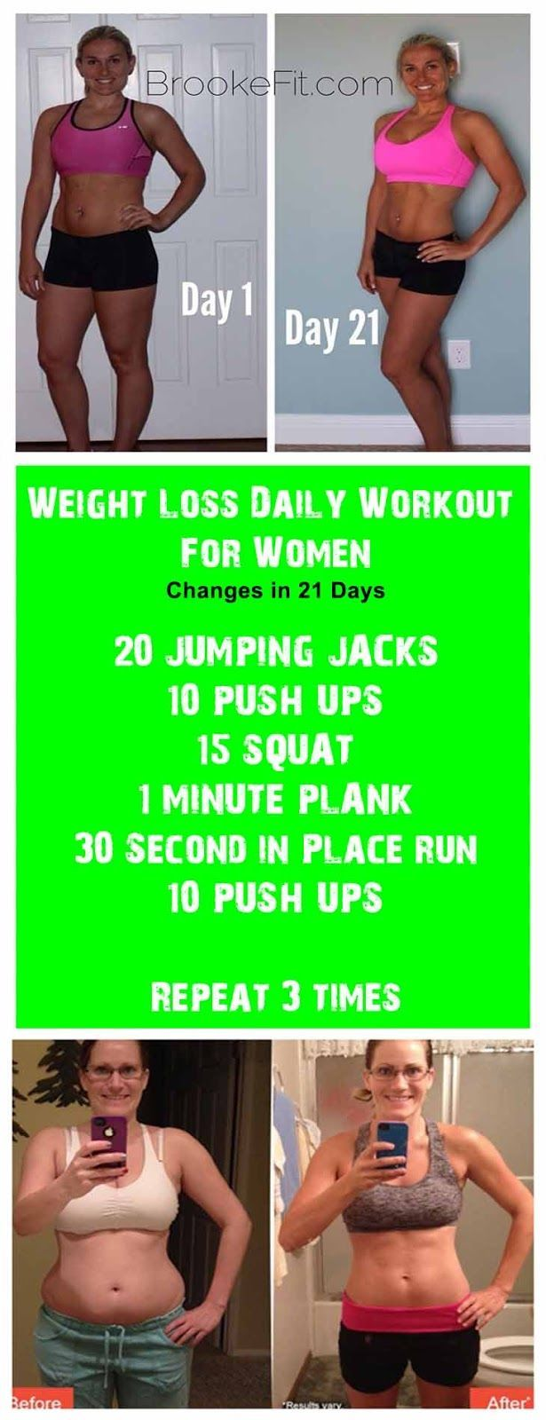 Weight Loss Daily Workout For Women and learn Fat Loss Tips - The 6 Commandments of Fat Burning | 21 days | workout | fitness | fat loss | motivation | challenge | workout plan |
