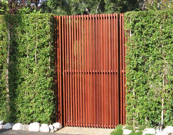 modern driveway gate noise reduction - Google Search