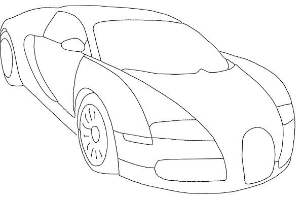 Drawing zeichnung Print and Color t Graffiti and Cars