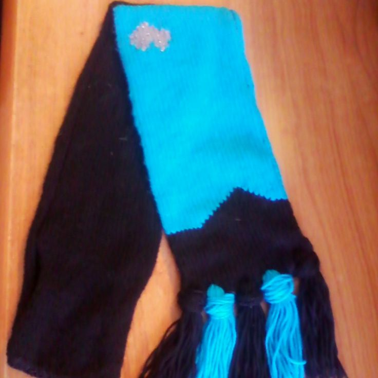 Blue Starfleet issued scarf