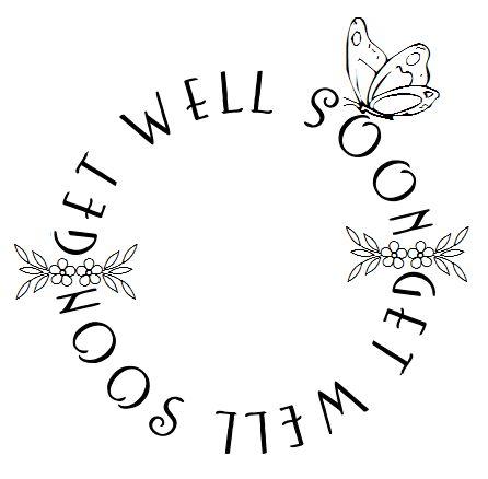 FREE digital stamp: Get well sentiments / desert diva