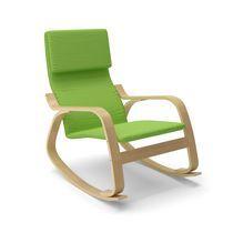 Chaise berçante Aquios Bentwood de CorLiving