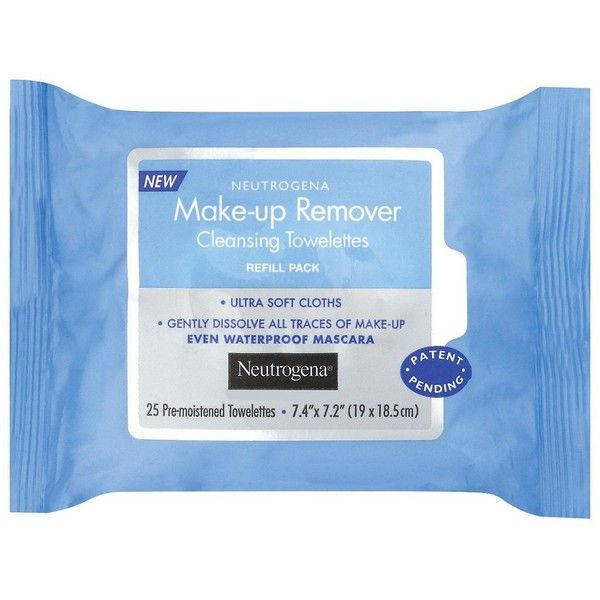 Neutrogena Makeup Remover Cleansing Towelettes Refill Pack -  Count ($4.74) ❤ liked on Polyvore featuring beauty products, skincare, face care, neutrogena skin care, neutrogena skincare and neutrogena
