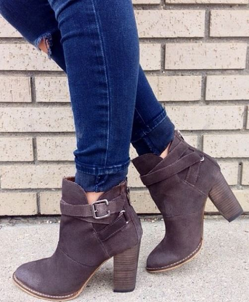 perfect fall booties from Chinese Laundry