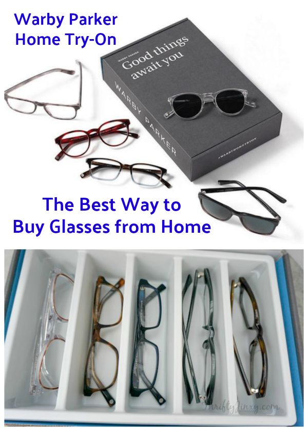 The Best Way to Buy Glasses from Home: Warby Parker Home Try-On  #glasses