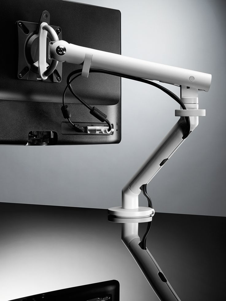 Flo monitor arm, Cradle to Cradle Silver Certified and 100 per cent recyclable