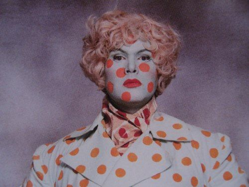 Smallpox? No, it's Leigh Bowery.