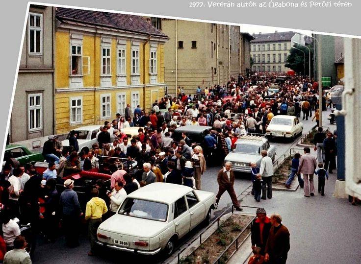 1977. Veterán autók felvonulása (2)