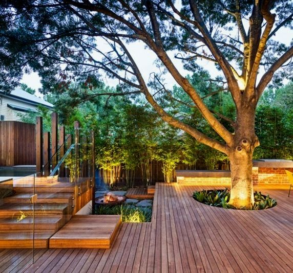 26 Deck Patio Designs For Small Yards Small Backyard Decks Deck Designs Backyard Deck Around Trees