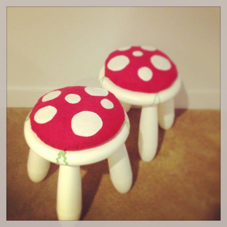 Ikea hack...mushrooms tools