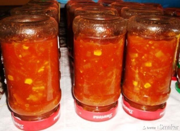 Sos chiński (słodko-kwaśny) do słoików