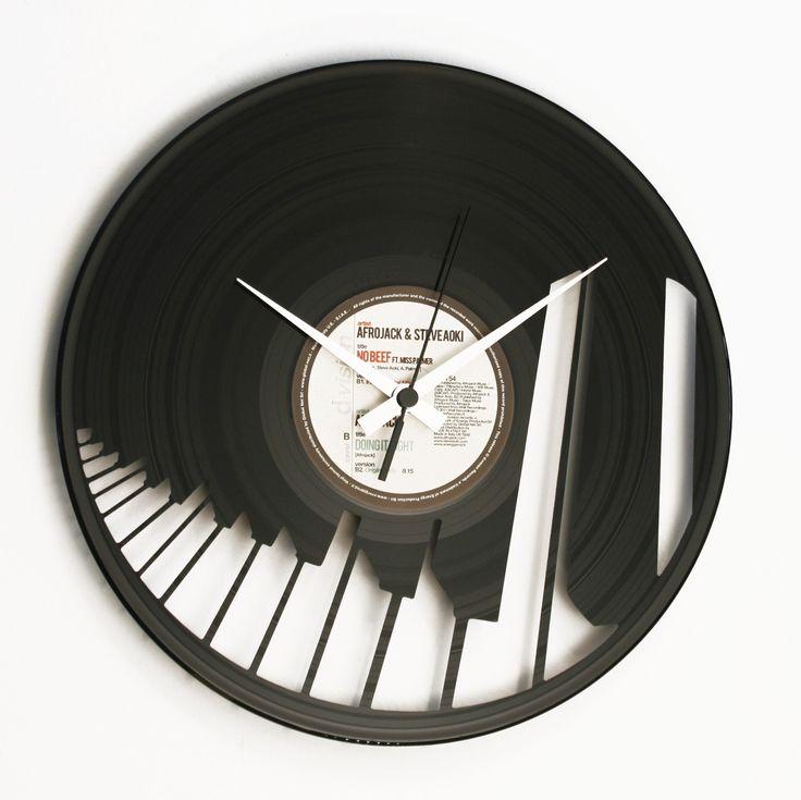 Disc'O'Clock Ceas de perete Abbiamo un Piano