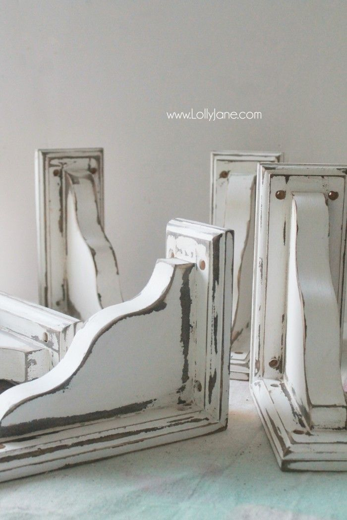 1000 Images About Corbels Diy On Pinterest Miss Mustard