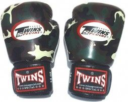 TWINS BOXING GLOVES ARMY