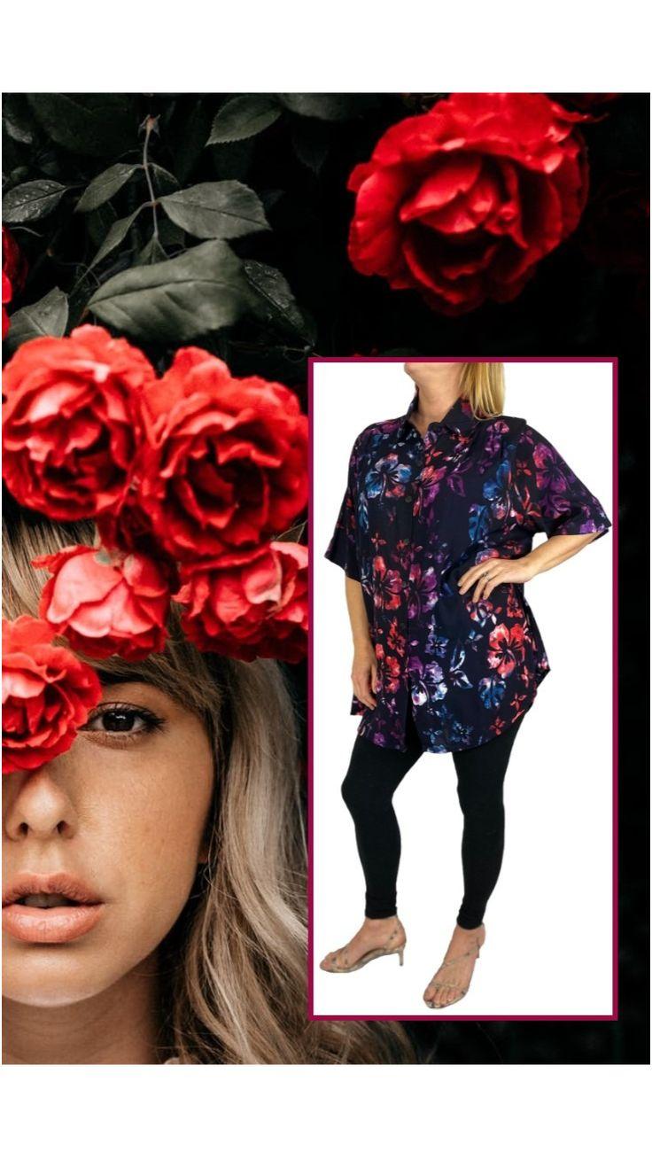 Plus Size Summer Outfit, Plus Size Maxi, Plus Size Beauty, Hibiscus, Tunics, Plus Size Fashion, Tunic Tops, Tunic, Plus Sizes Fashion