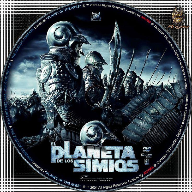 El planeta simios 2001   por Anyma 2000