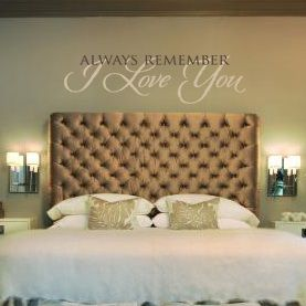 always remember i love you vinyl wall decal bedroom sticker design many more - Wall Sticker Design Ideas