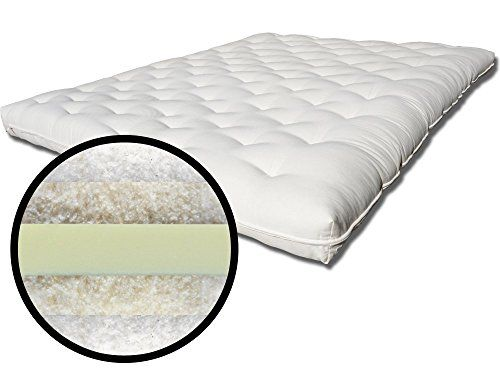 The Futon Back Care Plus Cotton Wool And Soy Foam Extra Firm Mattress
