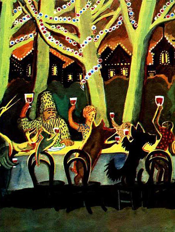 Виктор Дувидов «Доктор Айболит» Иллюстратор Виктор Дувидов Автор Корней Чуковский Сказка «Доктор Айболит» Страна СССР, Россия Год издания 1976 Издательство Детская литература