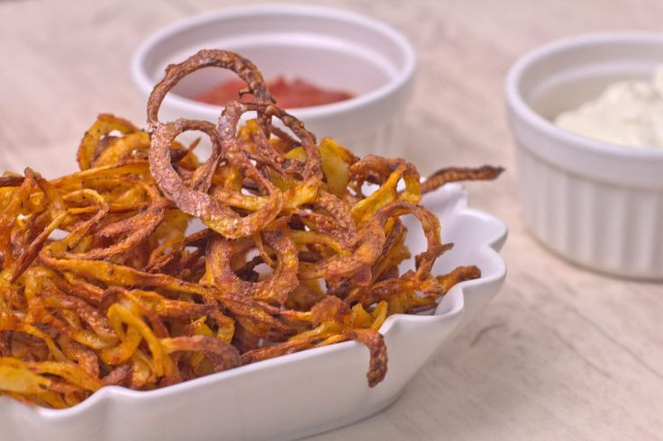 Curly Fries mit Spiralschneider - www.happyplate.de