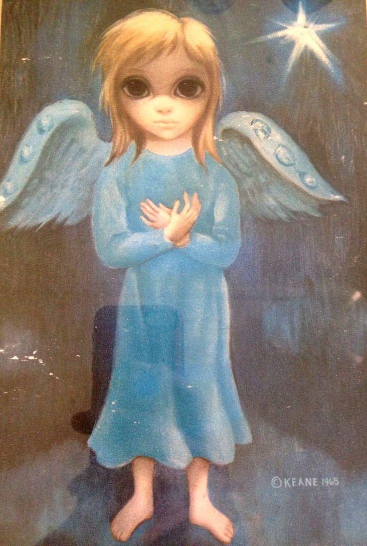 """Girl with Wings"" ~ Margaret Keane, 1965"