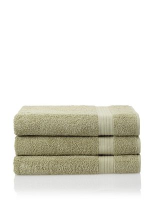 55% OFF Savannah by Chortex 3 Piece Bath Sheet Set, Green