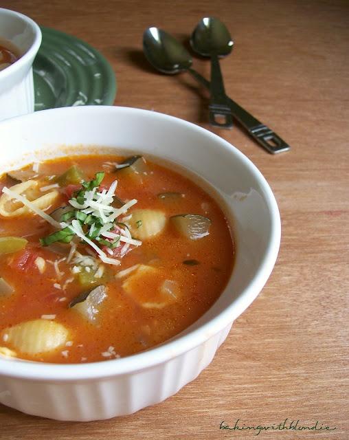 Ratatouille Soup | Eat:Drink:Be Merry! | Pinterest