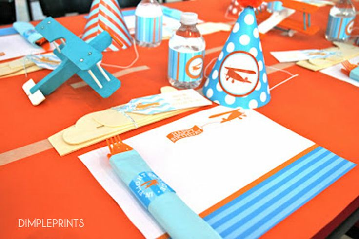 deluxe printable party planes birthday party airplane birthday parties ...