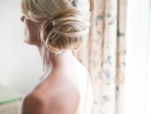 Hair inspiration Part II | The Blushing Bride: Hair Ideas, Straight Hair, Bridesmaid Hair, Bride Hair Low Side Buns, Hair Makeup, Hair Simple, Wedding Hairstyles, Updo, Hair Inspiration