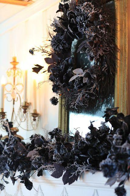 Elegant Halloween Decor with Balsam Hill - FRENCH COUNTRY COTTAGE - elegant halloween decorations