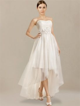 Elegant Shop high low beach wedding dresses at cheap prices online Plus size styles are available