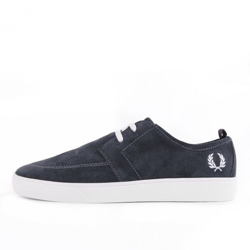 exclusieve Fred Perry Shields Suede Charcoal