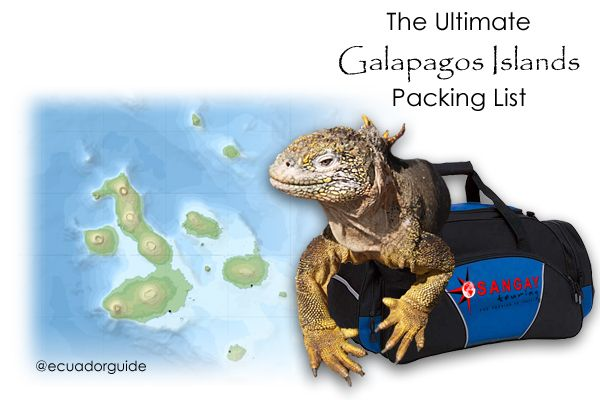 The Ultimate Packing List For The Galapagos Islands