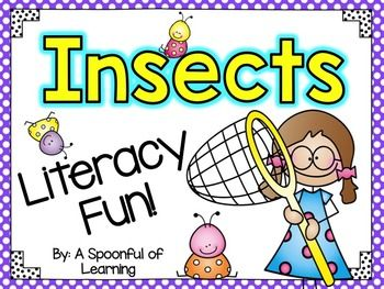 This pack is full of ONLY the literacy & writing activities found in my INSECTS UNIT. They are hands-on, engaging, and go along with the common core standards in literacy and writing. There are anchor charts and crafts too!Here is what is all included:LITERACY & WRITING ACTIVITIES: Insects Informational Chart Insects Informational Flip Book Insects Diagram Anchor Chart Labels Ants Info Chart & Writing Craftivity Hey, Little Ant Writing Craftivity Bees Info Chart & Writing Craf...