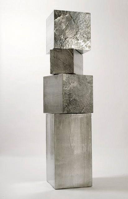 Andrea Salvetti – Tronchi, cast aluminium  cabinet