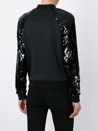 Philipp Plein sequinned sleeve jacket