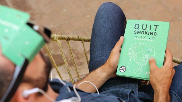 This App Uses VR to Help People Quit Smoking. Mindfulness and meditation are vital for many people trying to stop smoking, and one U.S. startup has created an app that combines the two with Virtual Reality. #pbgvirtual #vr